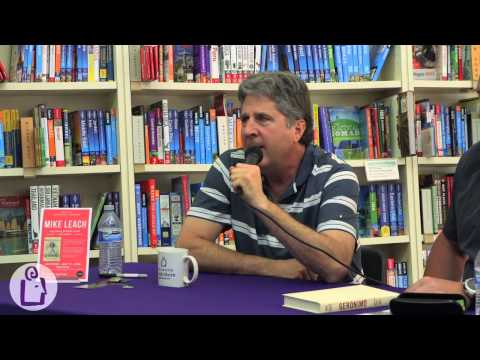 Mike Leach & Buddy Levy at University Book Store in Bellevue