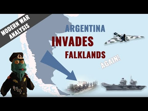 Argentina vs United Kingdom: Falklands War 2017