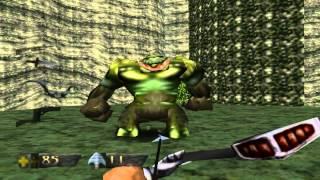Turok Dinosaur Hunter Gameplay Nivel 1 N64 Emulator HD
