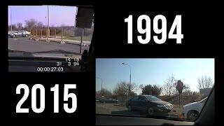 Po 21 latach przejechaliśmy się tą samą trasą - zobacz jak zmieniła się Warszawa