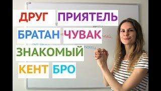 Как говорить о ДРУЖБЕ ? || Русский словарь