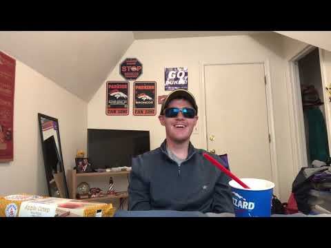 Dairy Queen Heath Caramel Brownie blizzard and Voortman Apple crisp wafers review