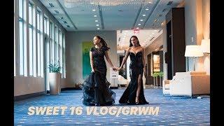SWEET 16 GRWM/VLOG   Alicia&Alexa  