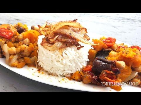 ALL VEGAN MOROCCAN TAGINE DINNER  | Connie's RAWsome Kitchen