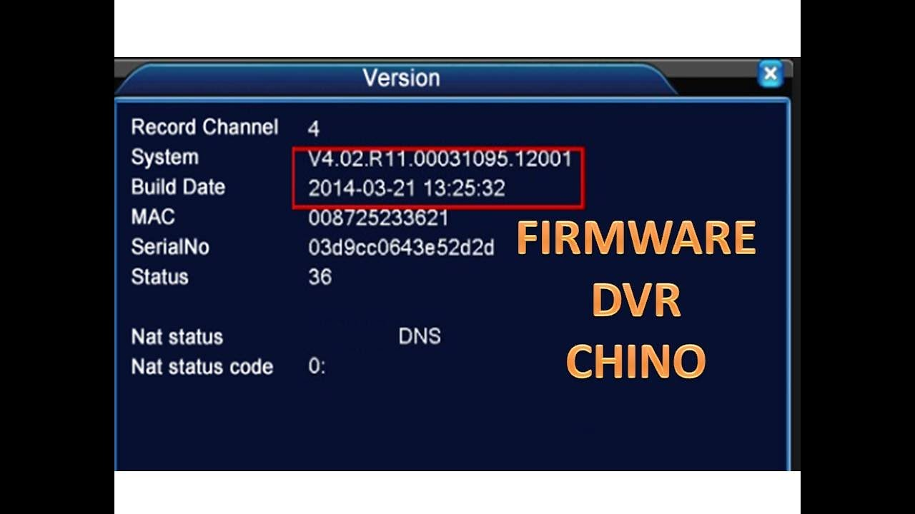 how to update firmware amcrest camera