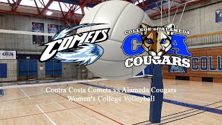 11/15/19 Contra Costa vs Alameda Women's Volleyball