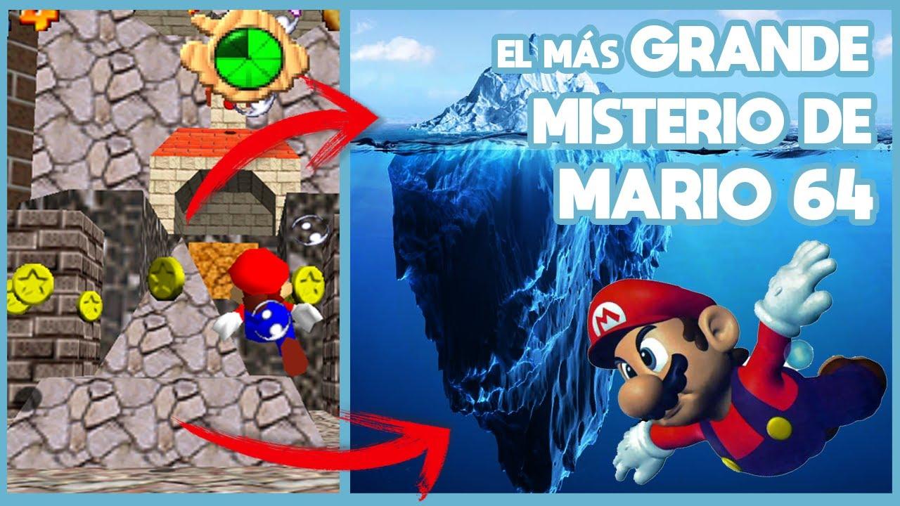 El Misterio del ICEBERG de SUPER MARIO 64 que ha PERTURBADO a los JUGADORES | N Deluxe