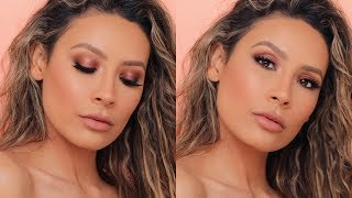 I FINALLY DID A DRUGSTORE MAKEUP LOOK | DESI PERKINS
