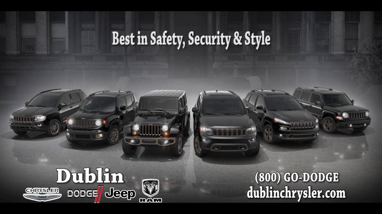 Dublin Chrysler Dodge Jeep Ram   Jeep Lineup