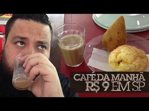 Café da manhã R$ 9,00 em SP #GSGSP