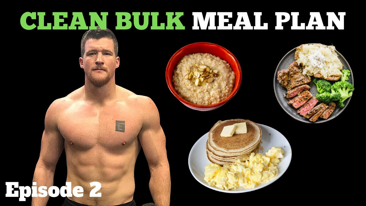 how to bulk muscle diet guide