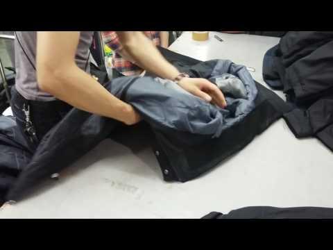Quy trình kiểm tra chất lượng sản phẩm áo Jacket