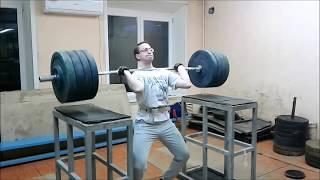Тяжелая атлетика. Алексей Чердаков. Тренировки февраля 2019г.