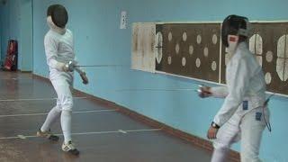 Чемпионат Сибирского федерального округа по фехтованию на шпагах и саблях