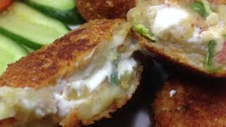 Vegetable Cheese Balls - Cheesy Snack Recipe - Ramadan Special Recipe by Recipes Mix