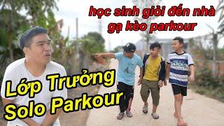 Bị Lớp Trưởng Đến Tận Nhà Rủ Solo Parkour Và Cái Kết | TQ97