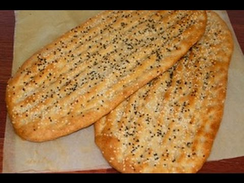 Afghan Bread Naan | Naan afghani | Noon e Barbari | Simple H