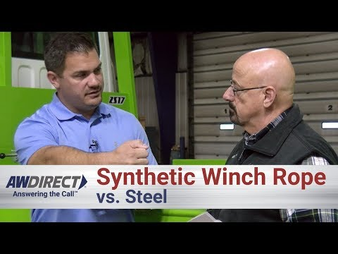 Synthetic Winch Rope vs. Steel for use in Towing from the COO of Prairie Land Towing