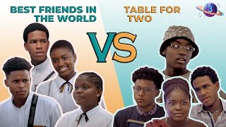 The Cast of Best Friends in the World in Table for Two: a Series of First Dates Compare Characters