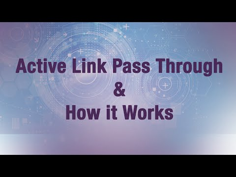 Media Conversion: Active Link Pass Through Feature