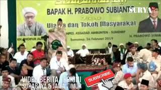 PRABOWO: SEGELINTIR ORANG YANG MENGUASAI KEKAYAAN INDONESIA TERMASUK SAYA, TAPI...