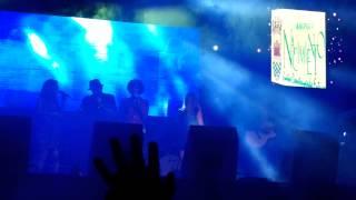 Ella baila sola & amistades peligrosas - presentación de banda (Nacimiento-Chile 08/02/14)