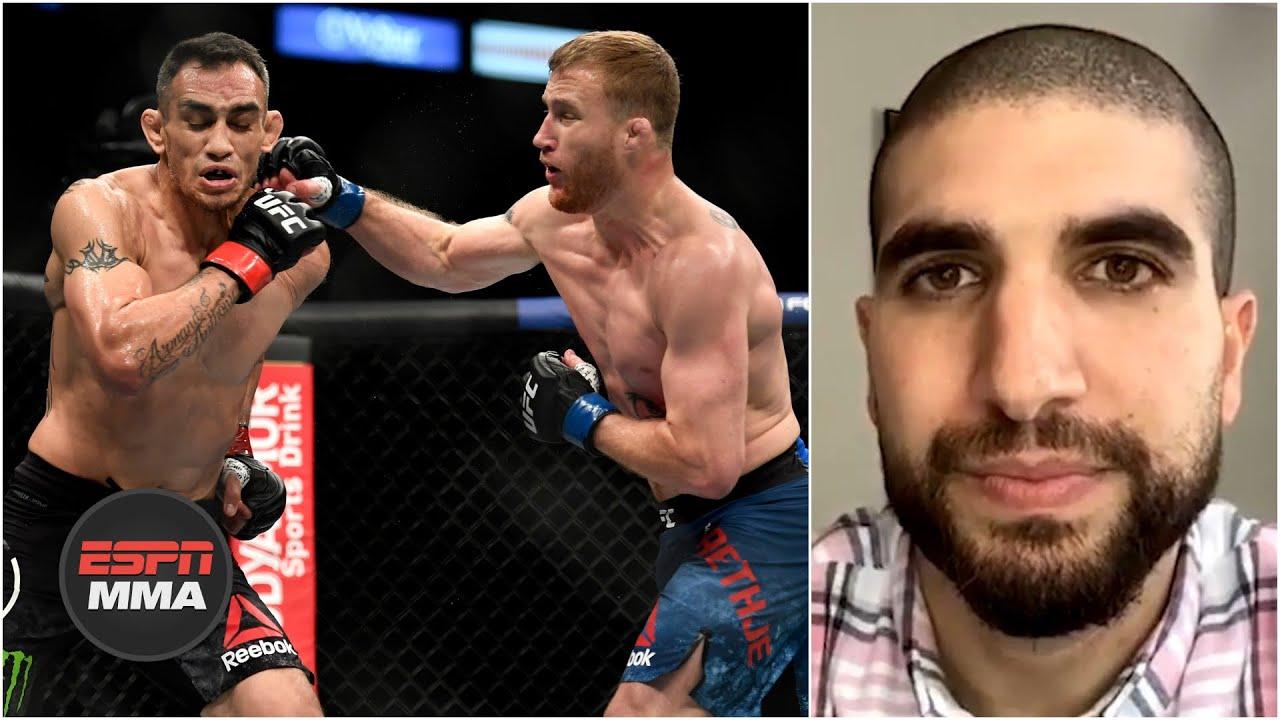 Ariel Helwani recaps Justin Gaethje's win at UFC 249 | ESPN MMA
