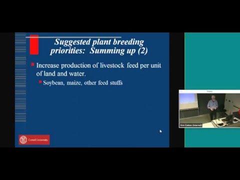 2016 5th Annual Cornell University Plant Breeding Symposium - Per Pinstrup-Andersen
