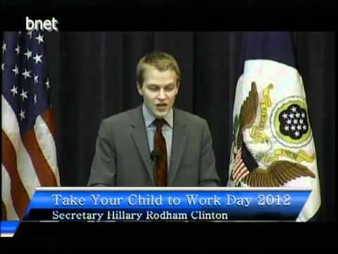 Special Adviser Farrow Delivers Remarks on Take Your Child to Work Day