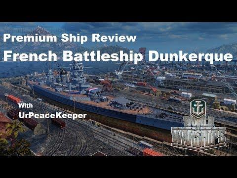 Premium Ship Review - French Battleship Dunkerque
