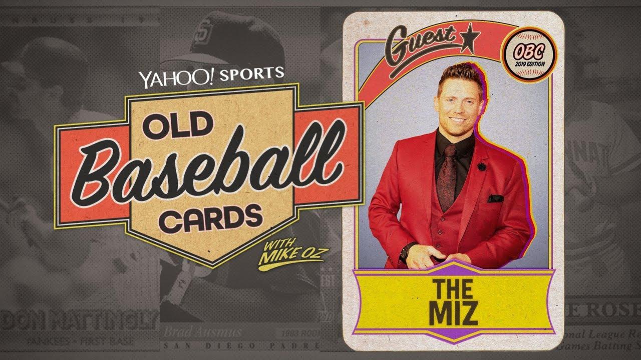 Wwe Star The Miz Talks 80s Baseball And 90s Pro Wrestling Old Baseball Cards