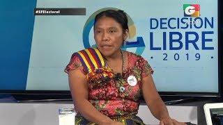 Entrevista a candidata presidencial Thelma Cabrera, de partido MLP | 04Jun