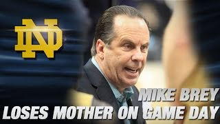 Mike Brey Announces Loss of Mother After NCAA Tourney Win