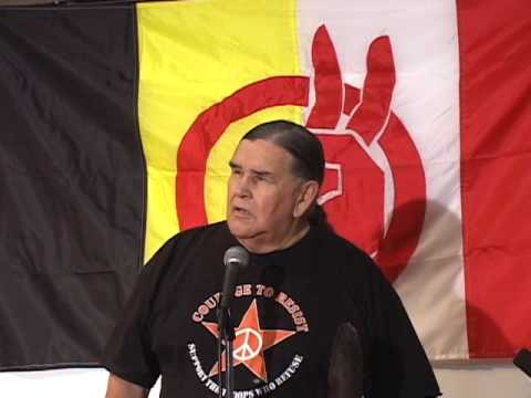 Clyde Bellecourt speaks at the 2009 AIM Fall Conference (pt 1 of 6)