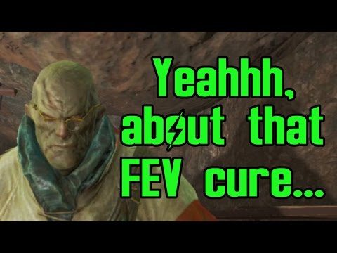 Fallout 4 - Virgil's Reaction To Destroyed Institute And No FEV Cure