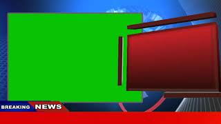 Free breaking news green screen background free animation 2019