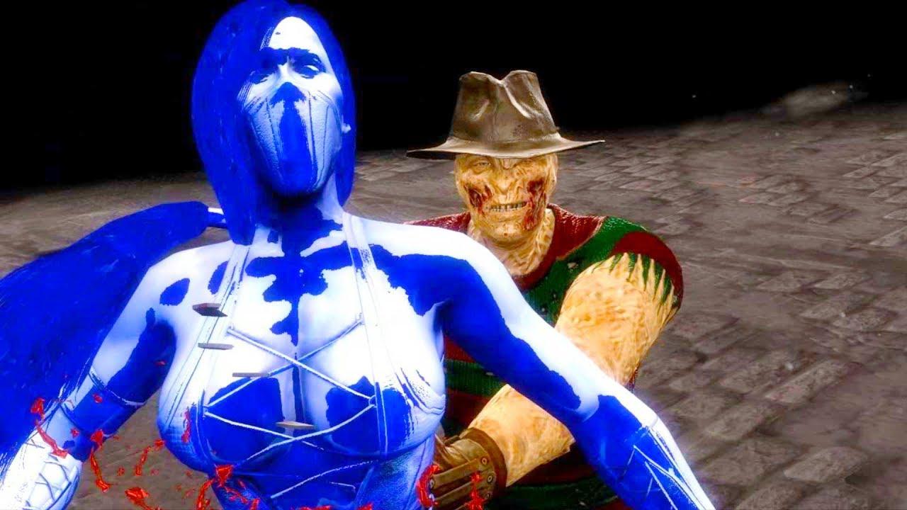 Mortal Kombat 9 - All Fatalities & X-Rays on Blaze Jade