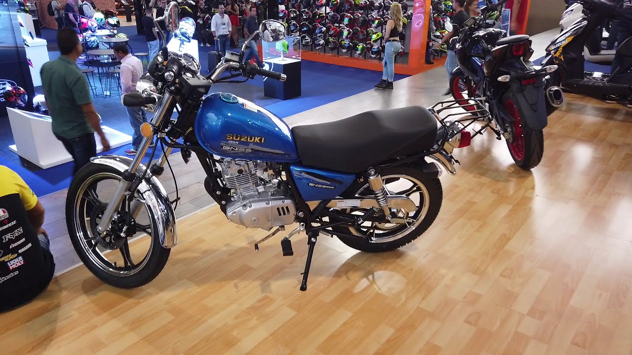 Suzuki GN 125 Nova 2020 en Colombia - Motos SPORT 2020 Suzuki