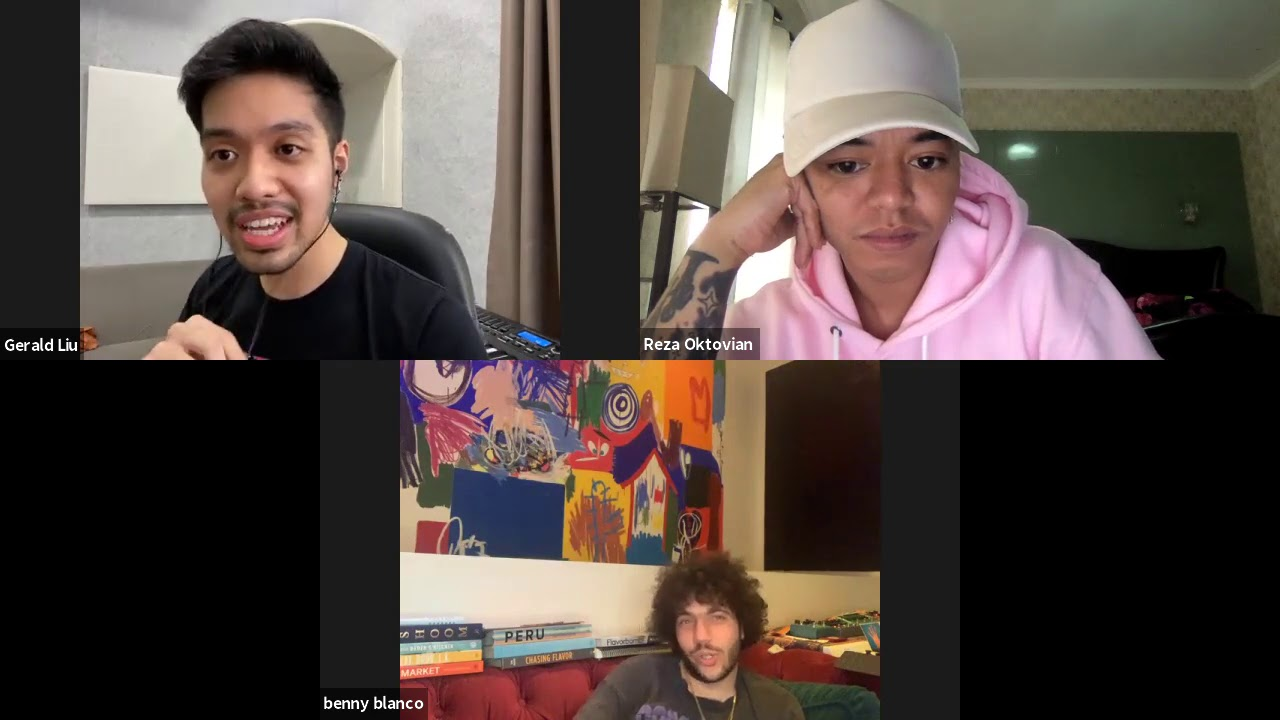 Chat with Benny Blanco