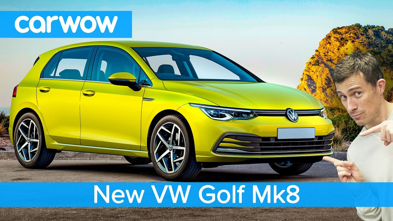 new vw golf mk8 2020 - see why it's the most dramatic