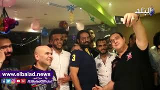 بالفيديو والصور.. لاعبو الزمالك يحتفلون بعيد ميلاد «قلب الأسد»