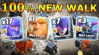 3 Pekka 11 Giant 7 Witch 17 Bowler Max Queen Walk Destroy 3 star any TH12 Max Base | Clash Of Clans
