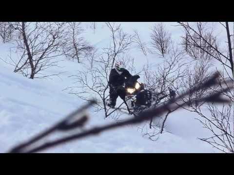 Тест снегоходов Polaris 2014 года Хибины