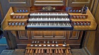Alphonse MAILLY, Andante con moto (1892), par Luc De Vos à l'orgue Merklin (1870) de Thulin
