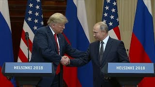 ABC News Live: Trump-Putin summit reactions, lava bombs, Thailand cave latest