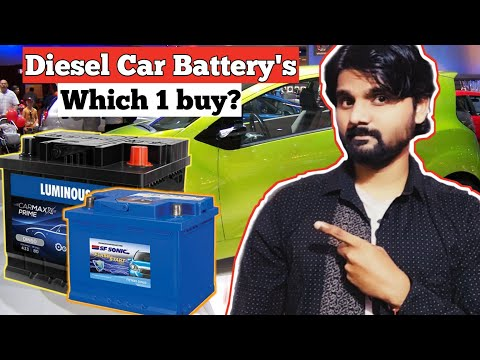 Which Battery Is Best For Your Diesel Car | Diesel Car Battery Price | CAR में कोनसी बैटरी लगवाएं |