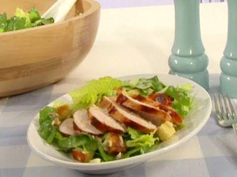 caesar salad originalrezept mit chicken youtube. Black Bedroom Furniture Sets. Home Design Ideas