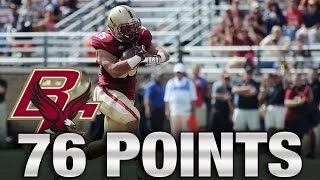 boston college 76 points in 76 seconds