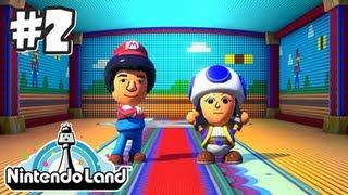 Nintendo Land Wii U - Part 2 - (Co Op) Mario Chase & Luigi's Ghost Mansion