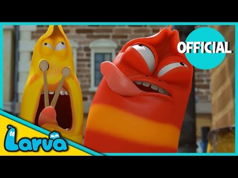 LARVA - BEST OF LARVA | Funny Cartoons for Kids | Cartoons For Children | LARVA Official WEEK 2 2017
